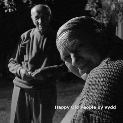 Happy Old People by vydd.