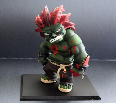 blanka custom toy street fighter