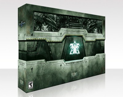 StarCraft II collectors edition