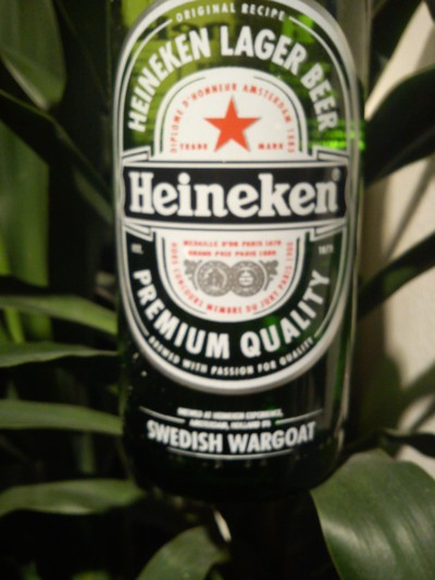 Swedish Wargoat Heineken