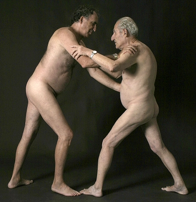 Image result for two old men fighting
