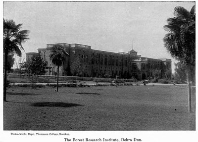 Forest Research Institute i Indien 1917.