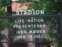 Live Nation presenterar; IRON MAIDEN!!!