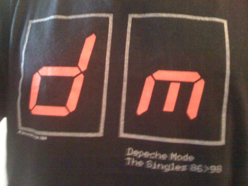 dm8698 the singles tour depeche mode globen stockholm 1998 t-shirt