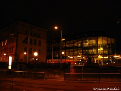 Göteborgs Universitet @ night!