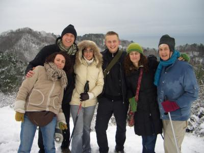 Hike in the mountains above Sukhumi