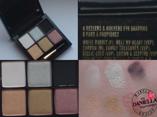http://thisismed.blogg.se    M·A·C - A Tartan Tale 2010   6 reelers & rockers eyeshadow palette [LE]