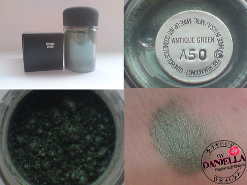http://thisismed.blogg.se  Antique Green pigment