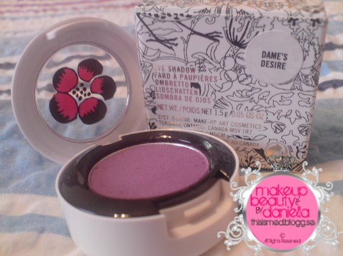 Dame's Desire eyeshadow,   Limited Edition,   Repromote from Dame Edna