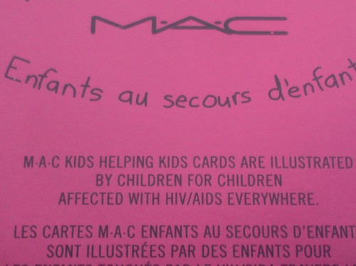 http://thisismed.blogg.se    M·A·C - A Tartan Tale 2010   Kids Helping Kids Cards [LE]