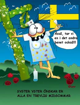 YsterSysters midsommarhälsning