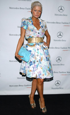 Paris Hilton, Mercedes-Benz, L.A Fashion Week 2006