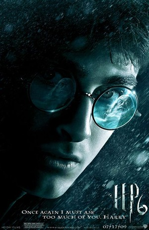 Harry Potter and the Half-Blodd prince poster