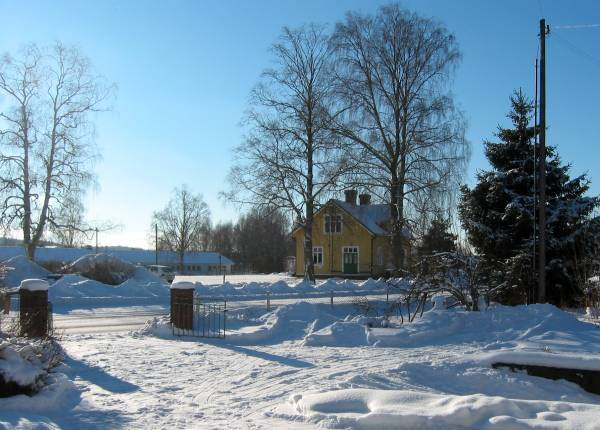 Winterscape near our home
