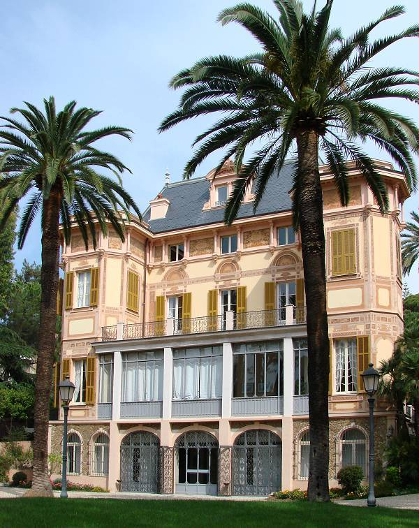 Alfred Nobel's house in San Remo, Italy