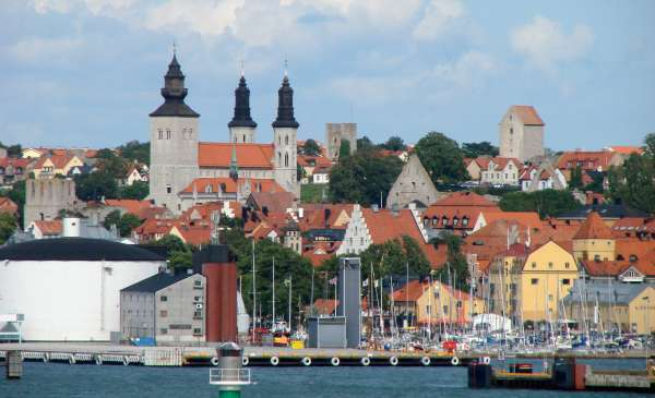 Visby from sea