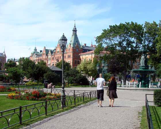 'The Friend Gift' park in Sundsvall
