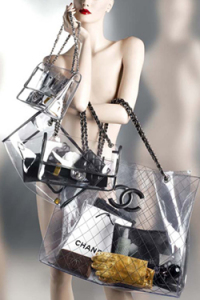 Naked Chanel bag