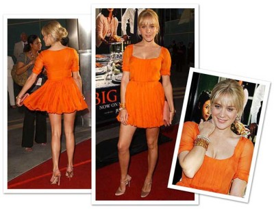 Chloë Sevigny i orange