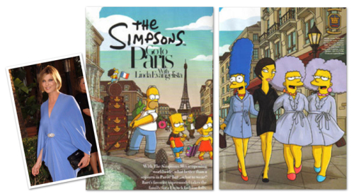 Simpsons in Paris
