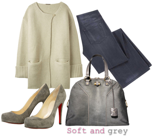 Soft and grey