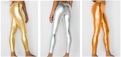 American Apparel metallic tights