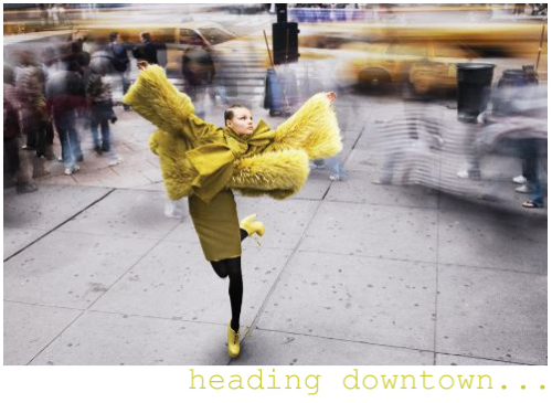 Alexi Lubomirski - heading downtown
