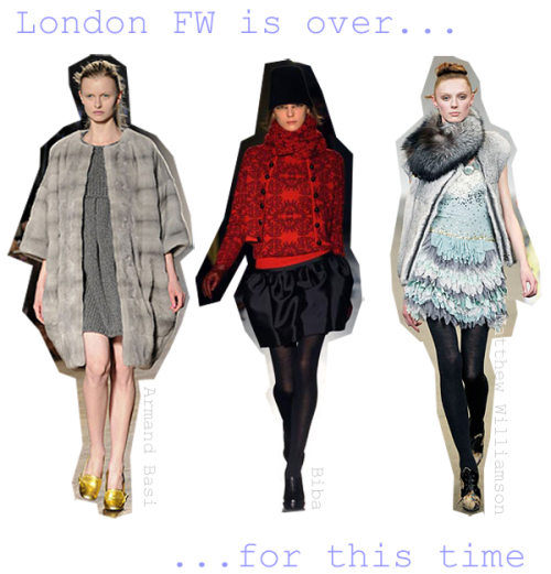 London Fashion Week a/w-08