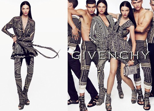 Givenchy ss 2010 ad Mert & Marcus