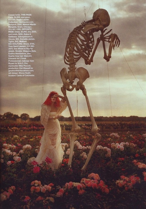 Tim Walker - Tim Burton - for Harper's Bazaar US oct 09 4