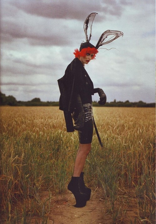 Tim Walker - Tim Burton - for Harper's Bazar US oct 2009 1