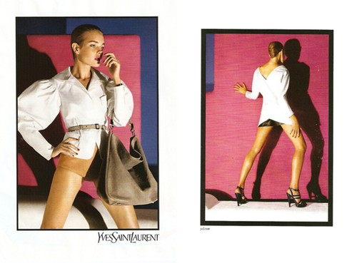 YSL ad ss 2010 Inez and Vinoodh