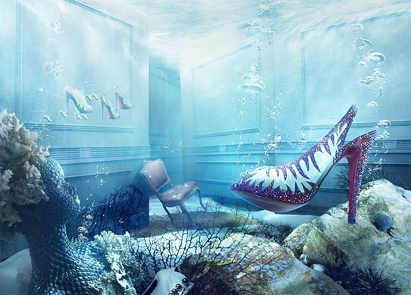 Christian Louboutin's Winter Tales Fall 2010 look book 4