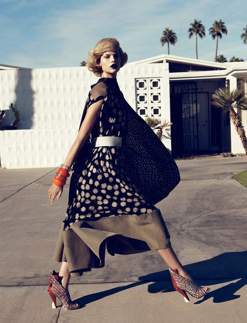 Lachlan Bailey for Harper's Bazaar US February 2012 - Palm Springs 4