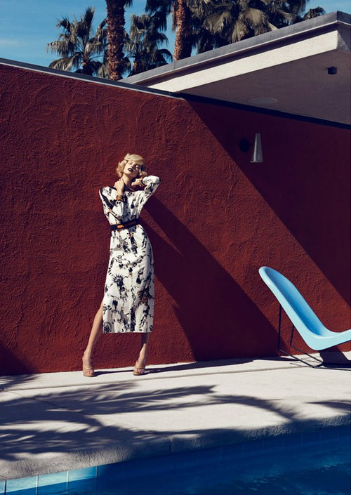 Lachlan Bailey for Harper's Bazaar US February 2012 - Palm Springs 6