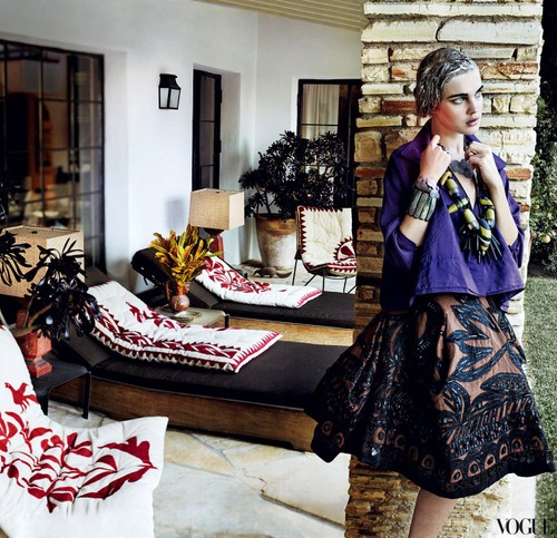 Mario Testino for Vogue US Mar 2012