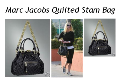 Marc Jacobs Quilted Stam Bag.