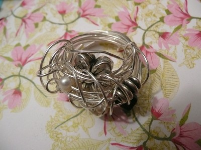Ring silver ros..