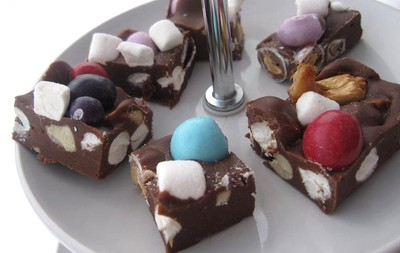 Rocky Road Fudge a´la Albybyn