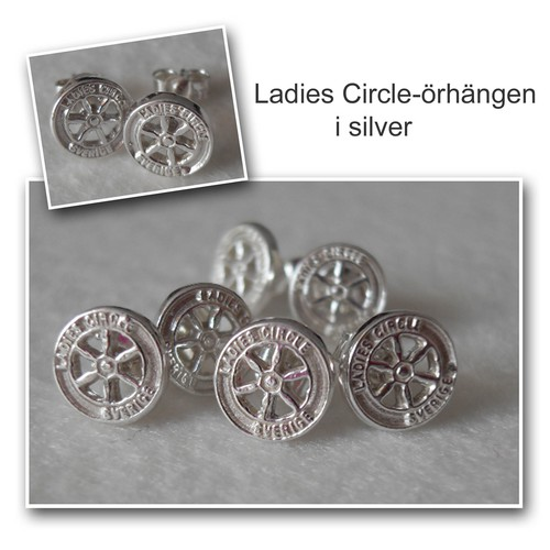 Ladies circle örhängen