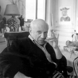 Pablo Picasso 1958 (c)Lee Miller Archives