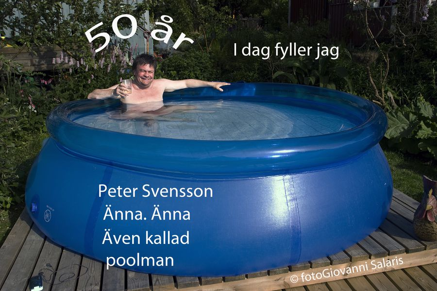 peter 50 år  poolman noffny