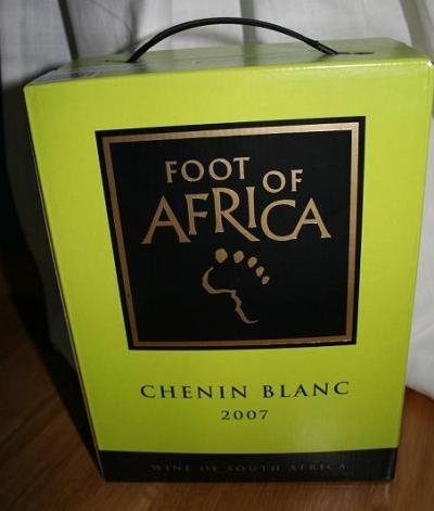 Foot of africa.