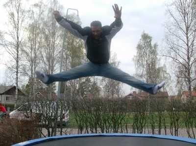 jumping jumping in SVERIGEE, NICEE