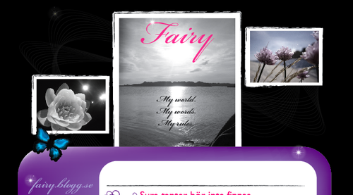Design till fairy.blogg.se