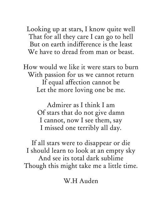 Life and writing style of wynstan hugh auden