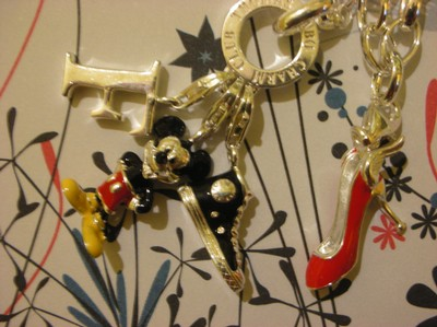Thomas Sabo charms mickey mouse red shoe f and sneaker
