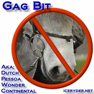 Gag bits, wonder bits, pessoas... are not good for Icelandic Horses.