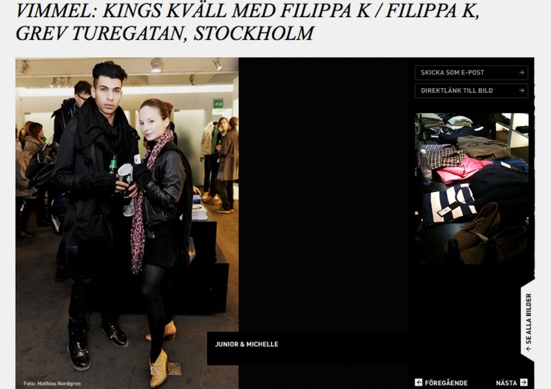 Sergio Benvindo Junior filippa k Carlsberg King Magazine