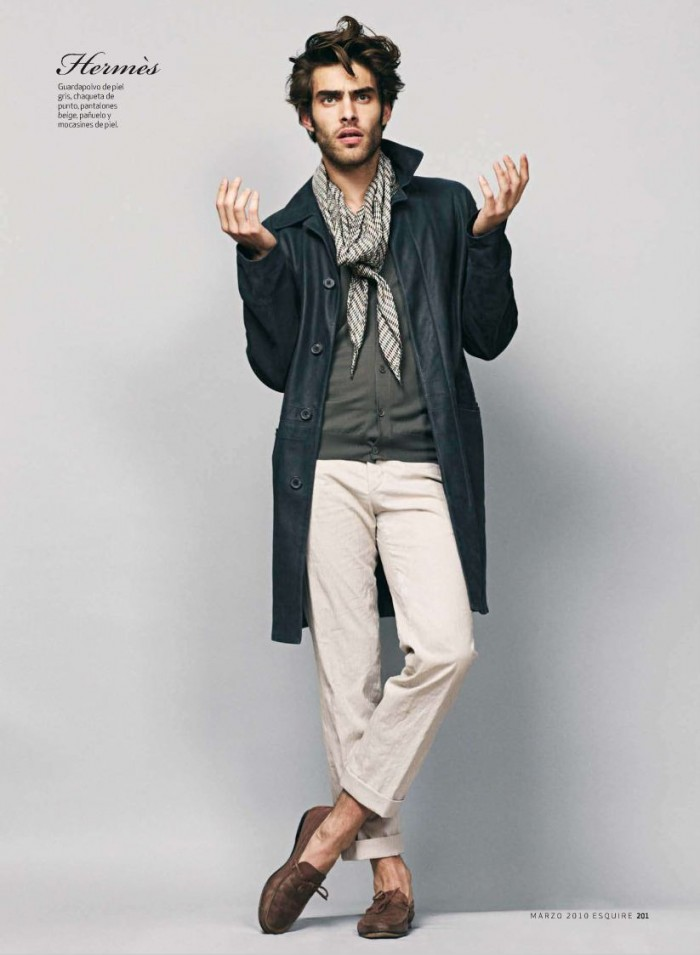 "he March issue of Esquire Spain features an special editorial with Spanish supermodel Jon Kortajarena. Entitled ""Kortajarena"" and shoot by Sergi Pons with styling by Chabela Garcia the fashion story show case the best looks of the season. Continue for more after the jump."